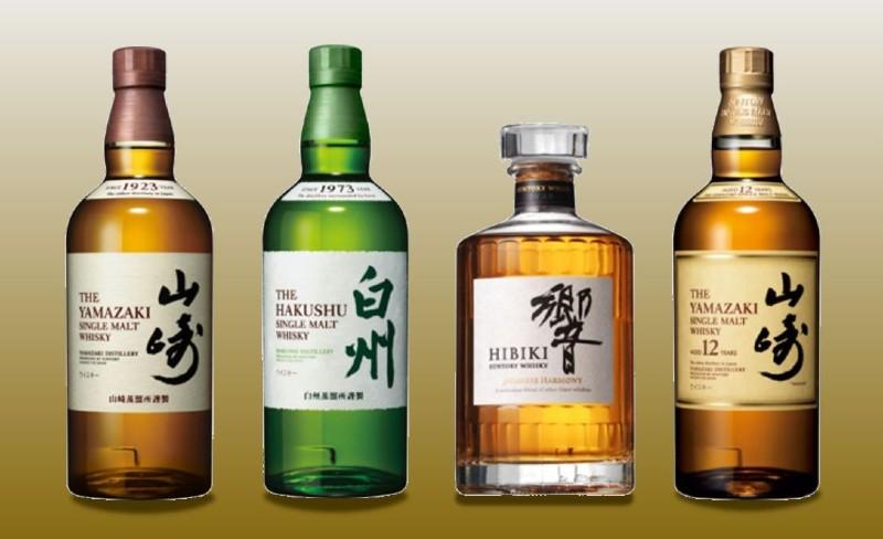 4種類のジャパニーズ・ウイスキー